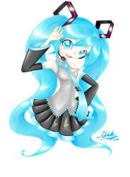The Miku That Killed All Other Mikus by SpinkellaSapphire
