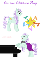 Countess Coloratura Pony by lonewolf3878