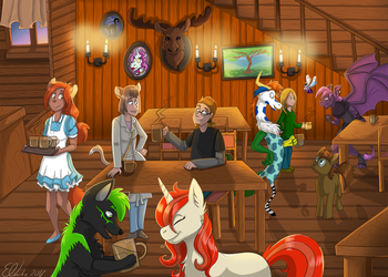 (Comm) In the Tavern by Eveeka