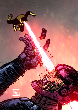 Cyclops vs Sentinel by Ultrafpc
