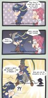 Is he Yusei or not ? by pink-hudy