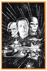 STAR TREK: THE NEXT GENERATION #7 by Jerome-K-Moore