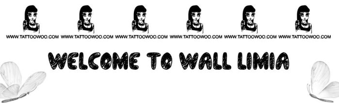 Cover Welcom Wall - By Limia by DeviantArt-Limia-Lii
