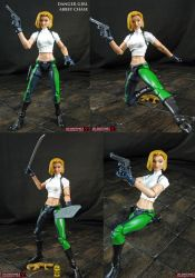 Custom Danger Girl Abbey Chase action figure by Jin-Saotome