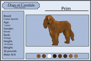 Dogs Of Canidale  Prim. by Shetama