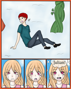 .:T-I:. Julian and the Beanstalk (Page 6) by Skylark-13