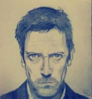 M.D. Gregory House by Ode-Chan