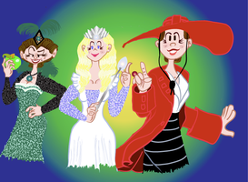 Witches of Oz by cjbolan