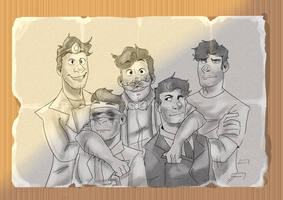 'Family' Picture by TeaRosePedall