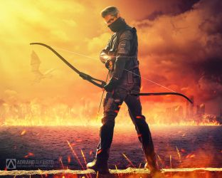 The Archer by adrianoampb