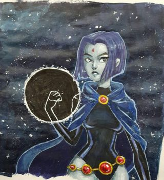 Raven by Kimchi-McGee