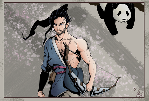 Totally not hanzo by dimitris161