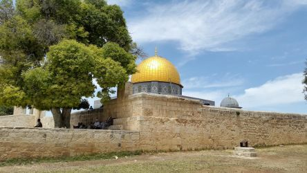 The dome of the rock high resolution 2014 by darweeshq