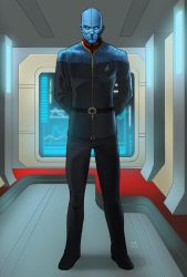 Starfleet Officer (Commission) by KaRolding