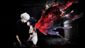 Blank Answer - Kaneki Ken and Kirishima Touka by 34Kai