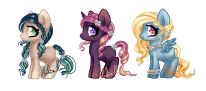 Adoptables - Celtic Mares Batch #2 by Hoshi-Hana