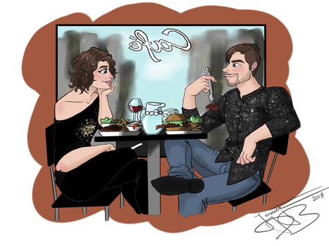 Cafe by jessica-doessing