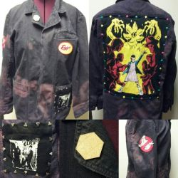 Stranger Things Punk Jacket by Sew-it-all