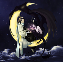 Byakuya and Ulquiorra by greensky222