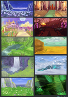 Tales of the Abyss BG Studies by Avibroso