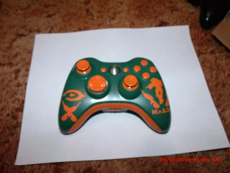 Halo Controller View 2 by DeathReaper223