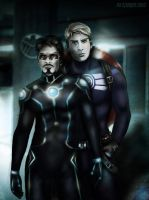 Stark x Cap - Going Somewhere? by VoydKessler