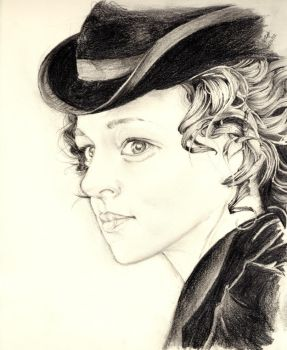Irene Adler by ray-agustin