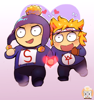 Craig X Tweek by ZahForbiddenArtist