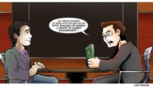 TDS/TCR Avengers Comic: Bruce Banner by Saturn-Kitty