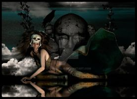 Scull Queen II by christel-b