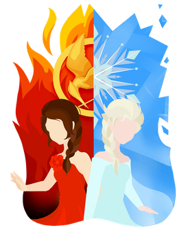 Fire and Ice by zixmix