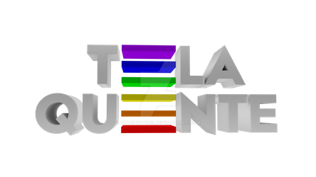 Tela Quente 3D Logo [Made In Blender] by CubenRocks