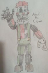Arnold the Clown by WendayThePotato