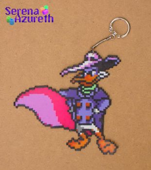 Darkwing Duck Keychain by SerenaAzureth