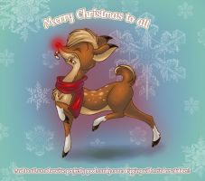 Most Famous Reindeer of All by ThisCrispyKat