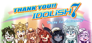 Thank you IDOLiSH7 !! by ThatWildMary