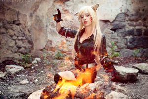 Light them up - Miqo'te - Final Fantasy XIV by Miss-Fairy-Floss