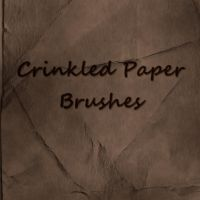 Crinkled Paper Brushes by LiZnReSources