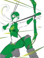YJ: Want an Arrow to the Face? by Dream-Piper