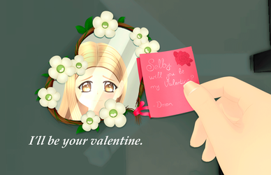 The Sims 4: Will you be my Valentine? by SimsValeria