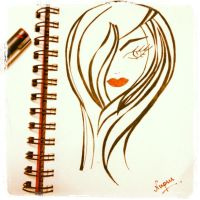 Red Lips by nupursanyal