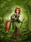 Fox Girl by SirTiefling