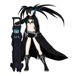 Black Rock Shooter by flipocrisy by flipocrisy