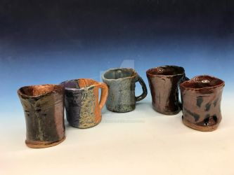 Ceramics mugs by fossil-fighter