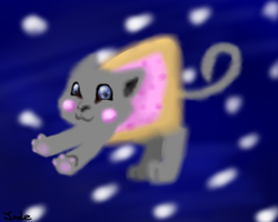 nyan cat by FennecHTF