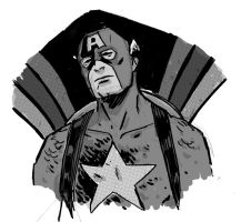 Captain America by JasonCopland