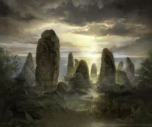 Drowned Graves - Lord of the Rings TCG by jcbarquet