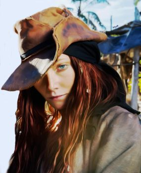 Anne Bonny portrait by letydb