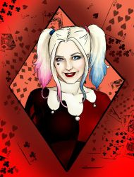 Harley Quinn by CatAstropheBoxes