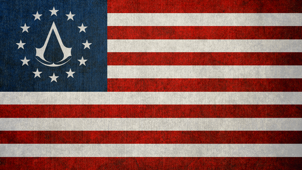 Assassin's Creed III: Colonial Flag by okiir